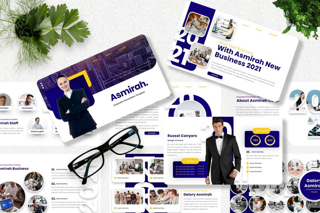 Asmirah-Corporate-Powerpoint-Template 40+ Best Company Profile Templates (Word + PowerPoint) design tips