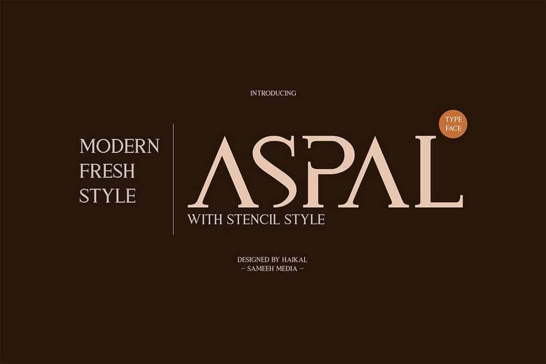 Aspal-Elegant-Modern-Font 30+ Best Fonts for Signs design tips  Inspiration