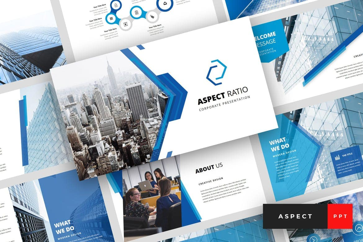 45 Free Business Powerpoint Templates And