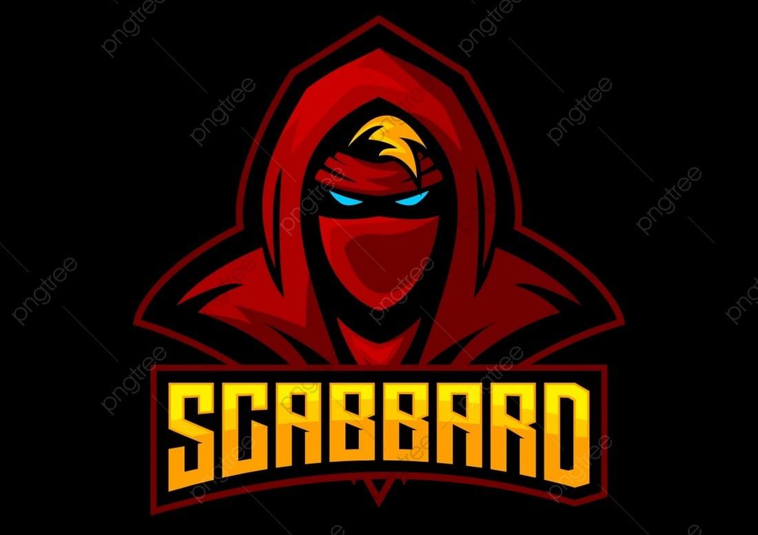 Assassin - Free eSports Logo Template
