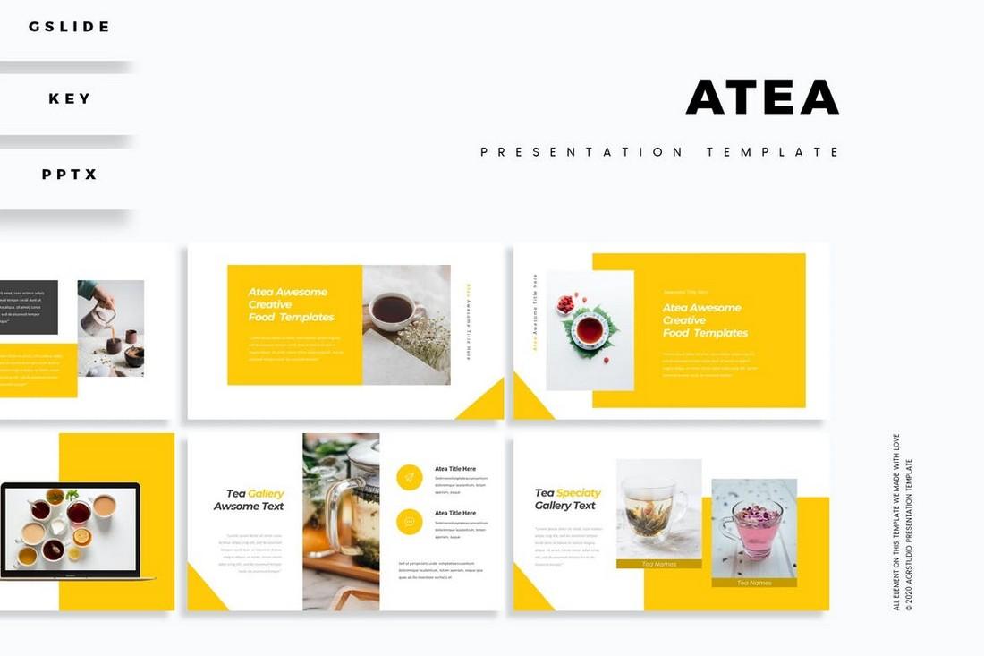 Atea - Clean Professional Presentation Template