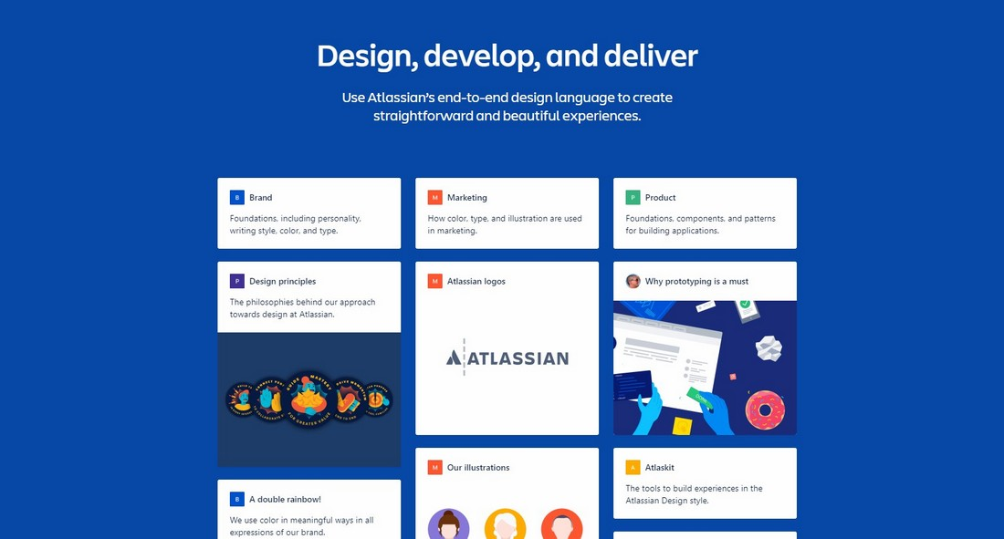 Atlassian What Is a Design System & Why Use Them + Examples design tips