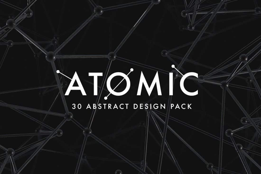 Atomic - 30 Abstract B&W Backgrounds