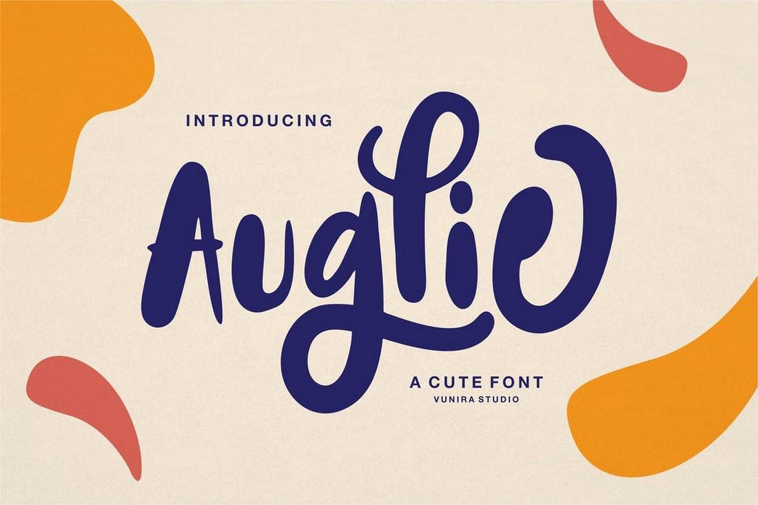 Auglie - Hand-Drawn Font