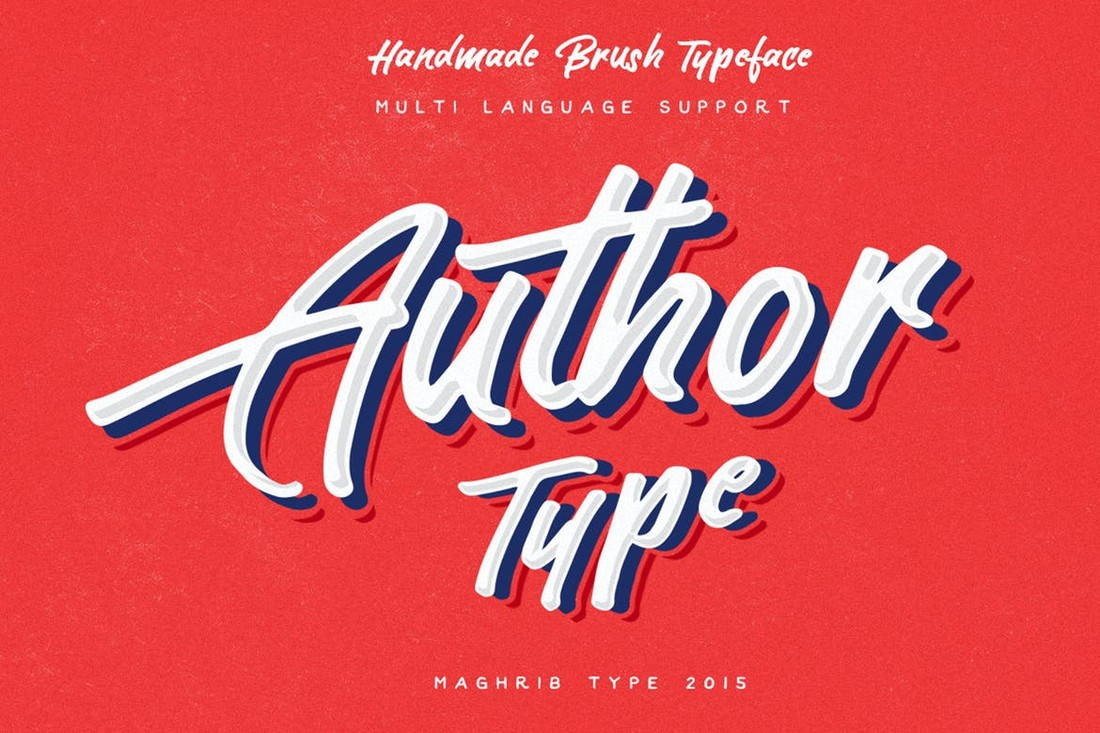 Author Type for T-Shirt Design