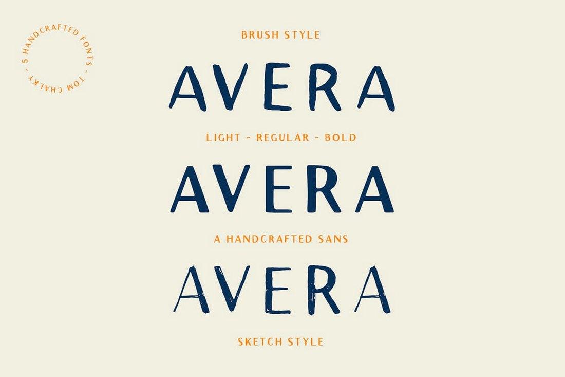 Avera-Sans-Font-Family 20+ Best Fonts for PowerPoint Presentations design tips