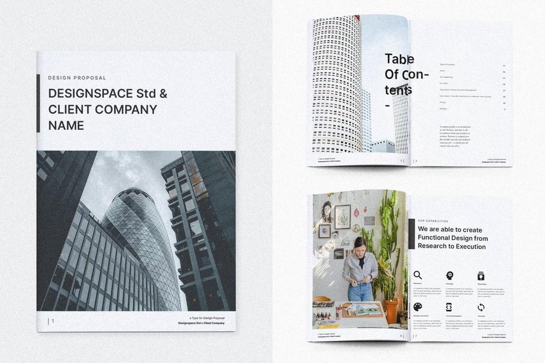 Avian - Business Proposal Brochure Template