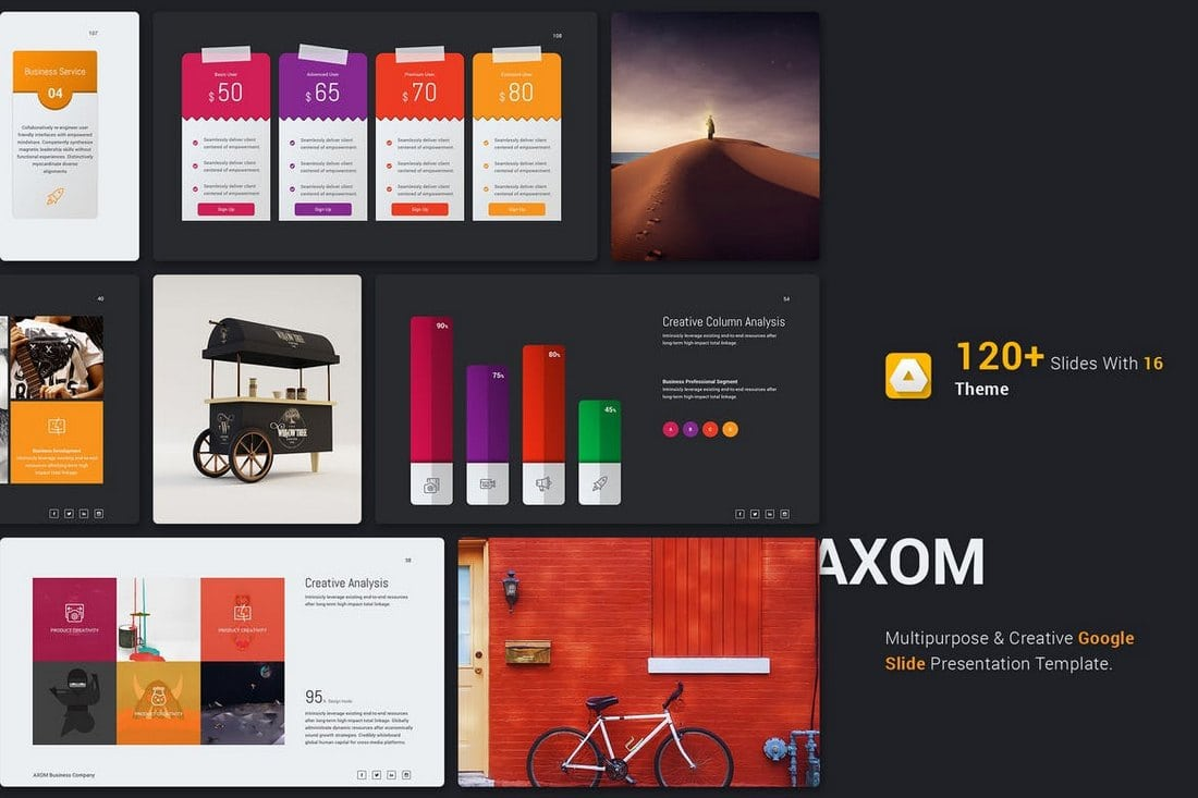 Axom - Google Slide Template