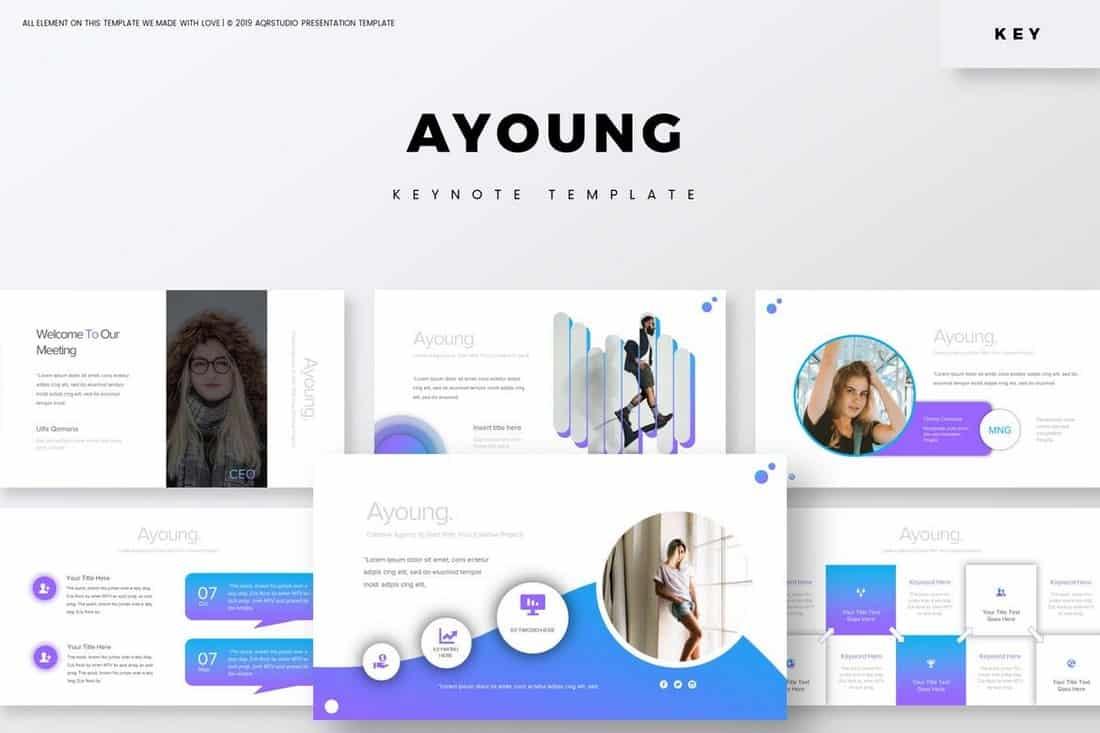 Ayoung - Premium Keynote Template