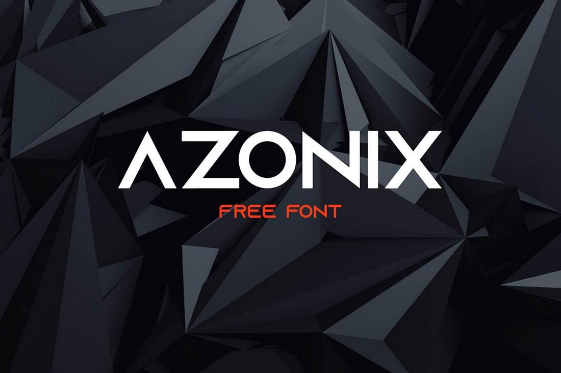 Azonix - Free Modern Minimal Font