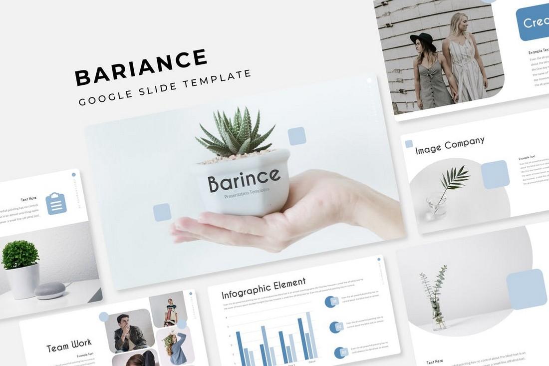 BARINCE - Modern Google Slide Template