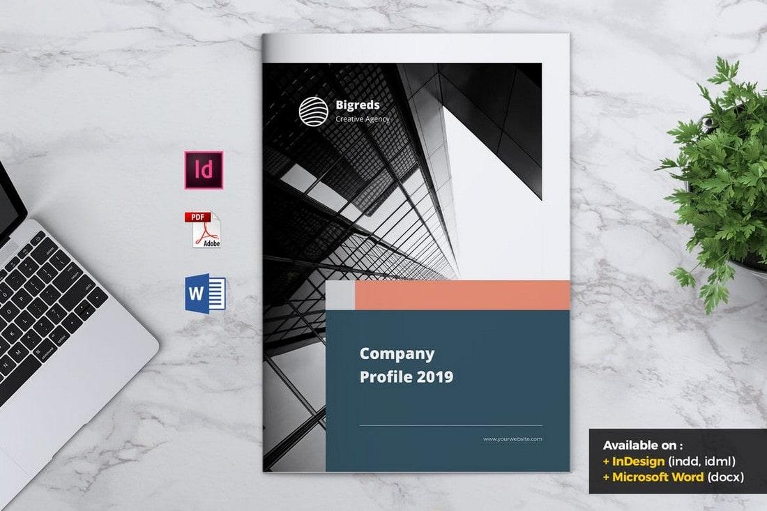 BIGREDS-Professional-Company-Profile-Word-Template 40+ Best Company Profile Templates (Word + PowerPoint) design tips