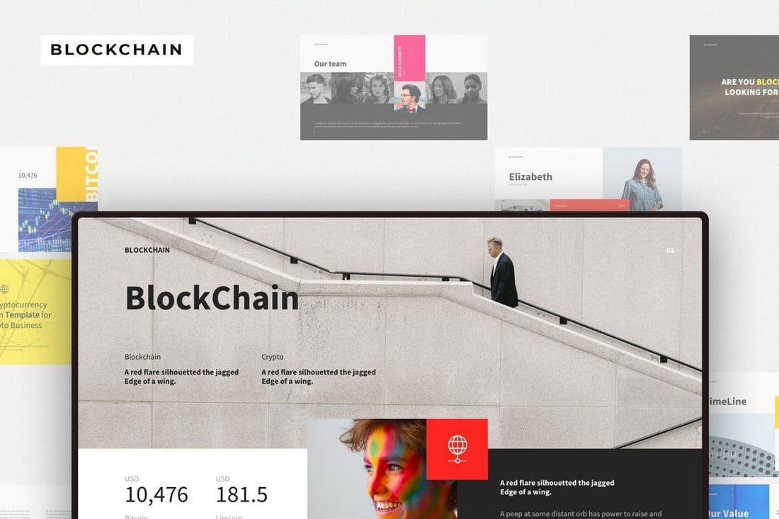 BLOCKCHAIN-Keynote-Template 30+ Best Keynote Templates of 2018 design tips