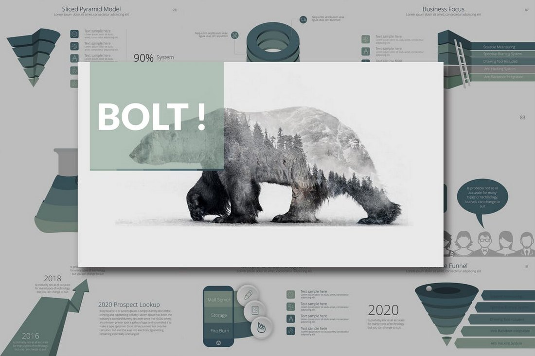 BOLT Corporate Keynote Template