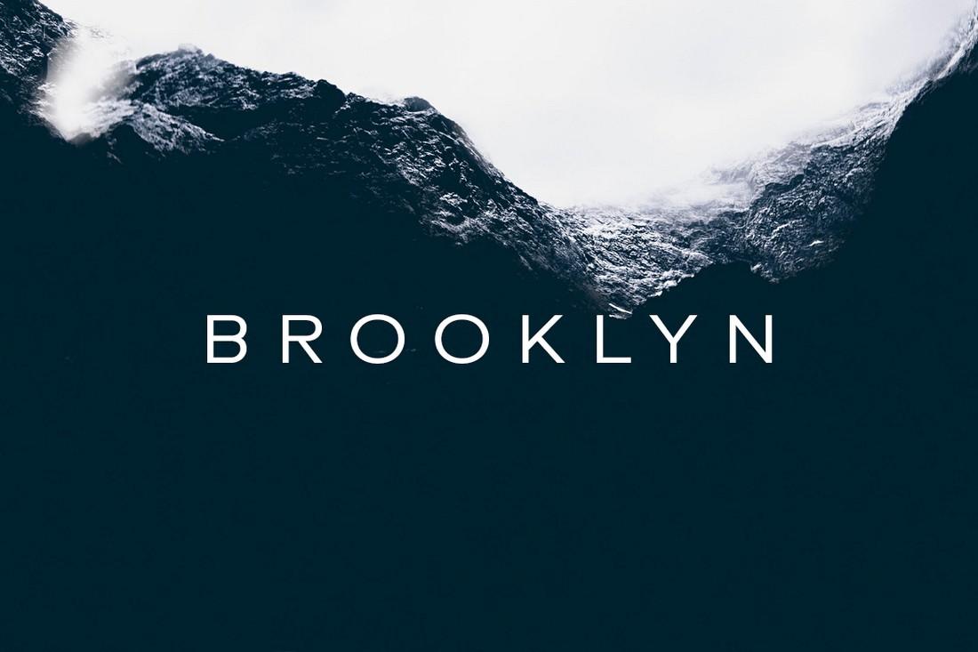 BROOKLYN - Clean & Minimal Font
