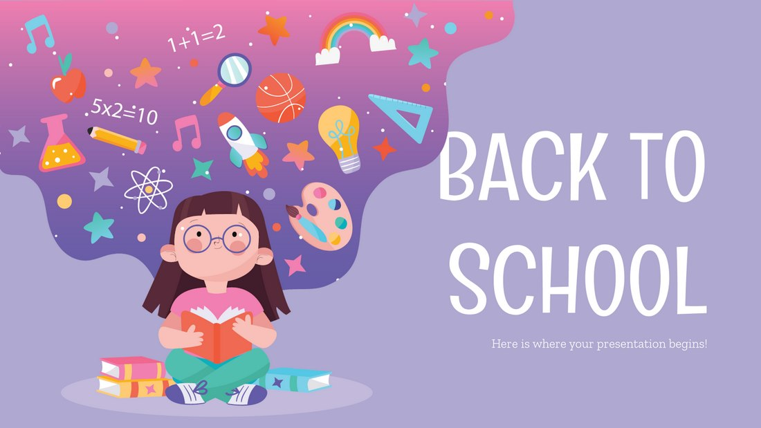 Back to School - Free Powerpoint Template