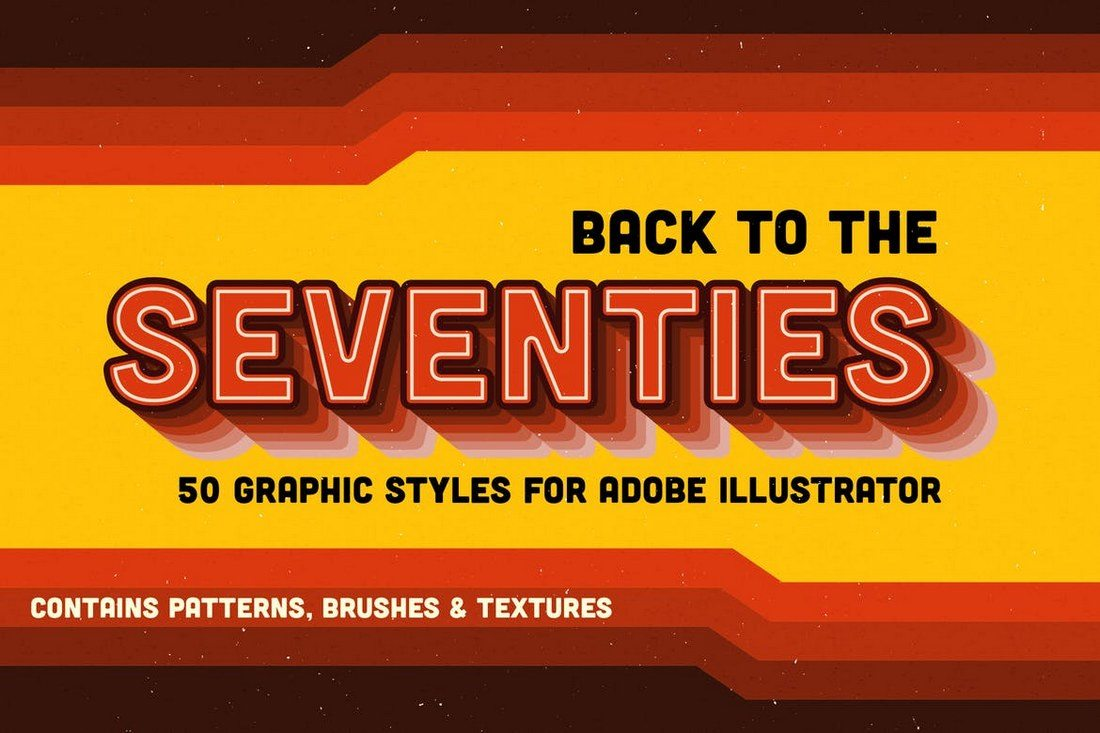 Back-to-the-Seventies 30+ Best Retro Text Effects & Styles design tips