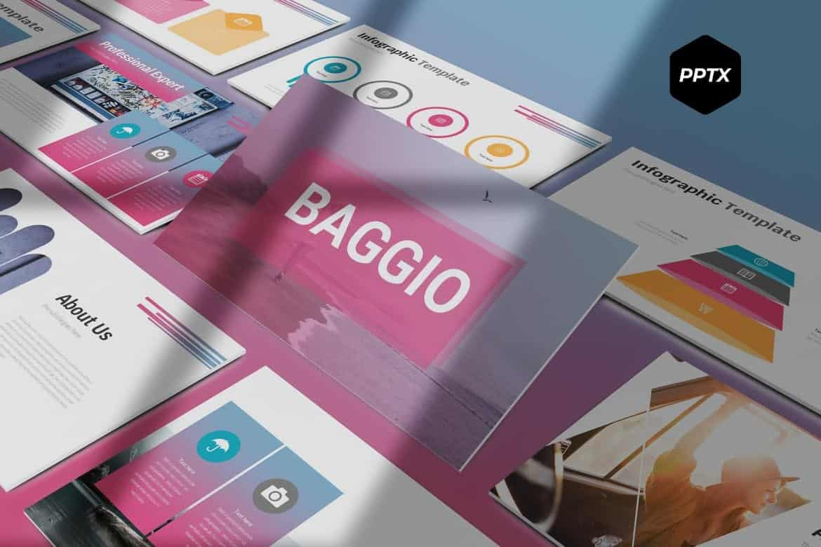 Baggio - Stylish Powerpoint Template