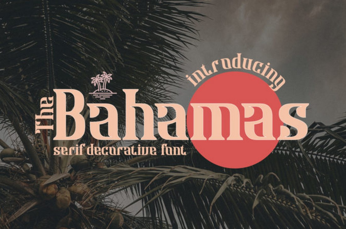 Bahamas - Free Decorative Font