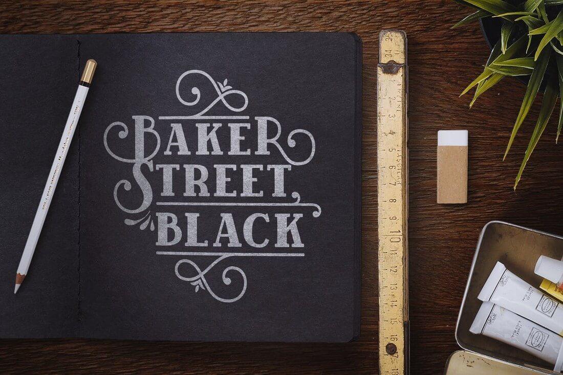 BakerStreet-Black 60+ Best Big, Poster Fonts of 2019 design tips