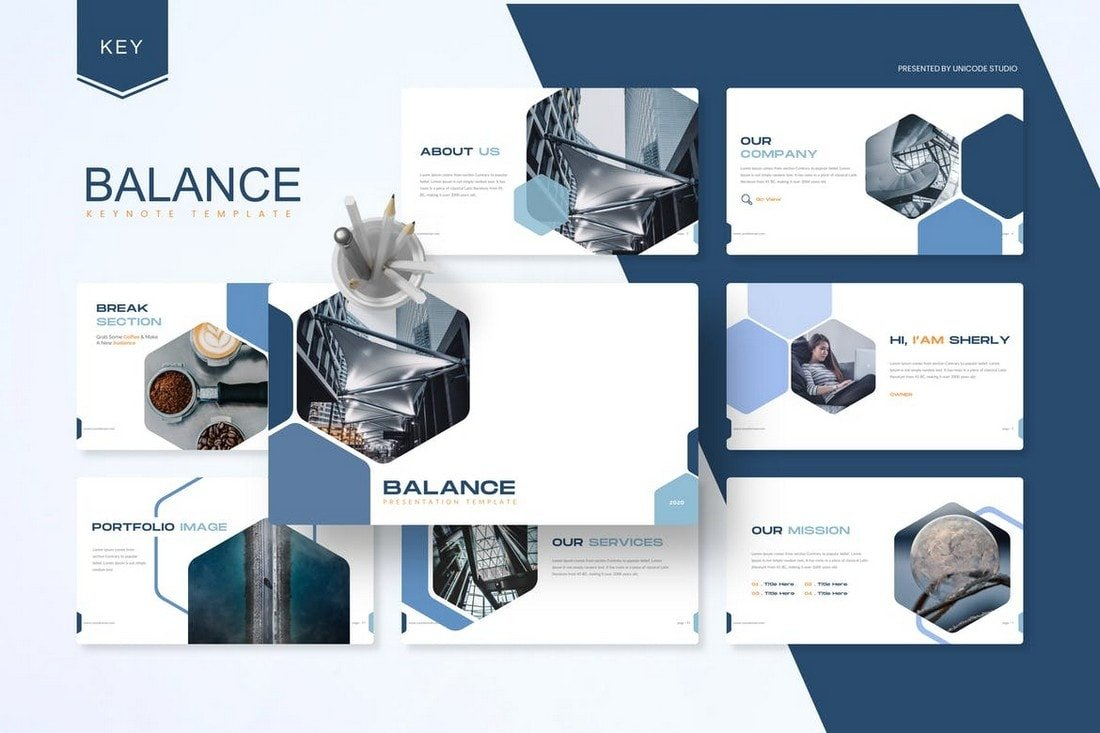 Balance-Business-Keynote-Template 50+ Best Keynote Templates of 2021 design tips
