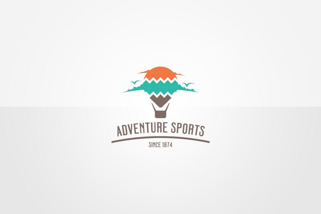 Balloon-Logo-Template 50+ Best Minimal Logo Design Templates design tips