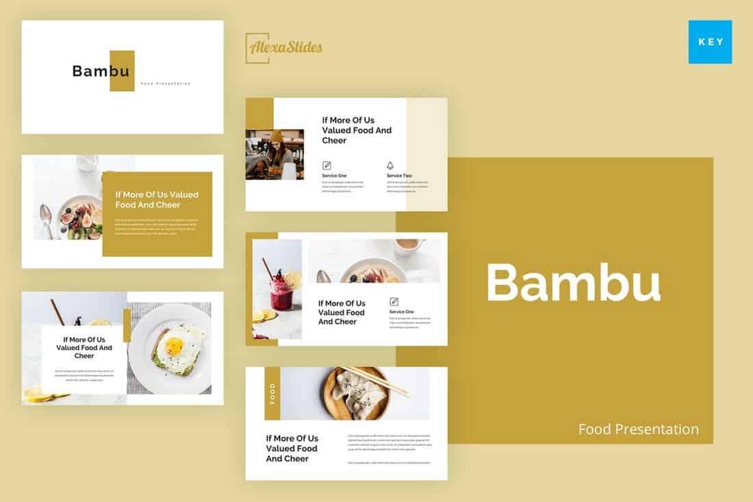 Bambu - Keynote Presentation Template