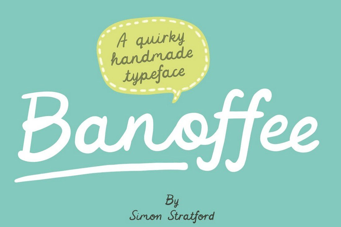 Banoffee-font 50+ Best Hand Lettering & Handwriting Fonts 2021 design tips