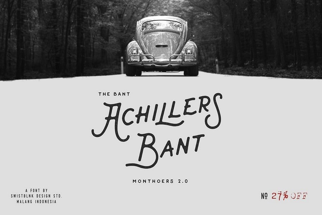 Bant-Achillers-Vintage-Singage-Font 30+ Best Fonts for Signs design tips  Inspiration