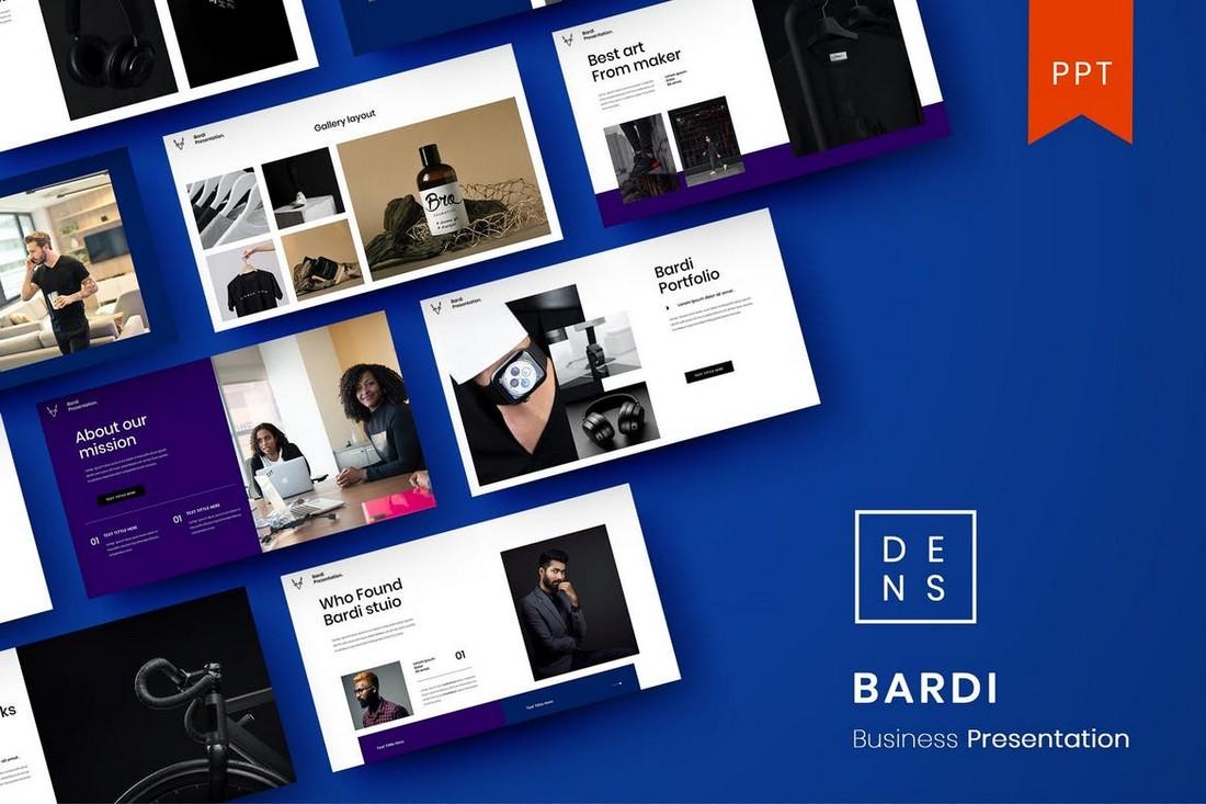 Bardi – Business PowerPoint Template