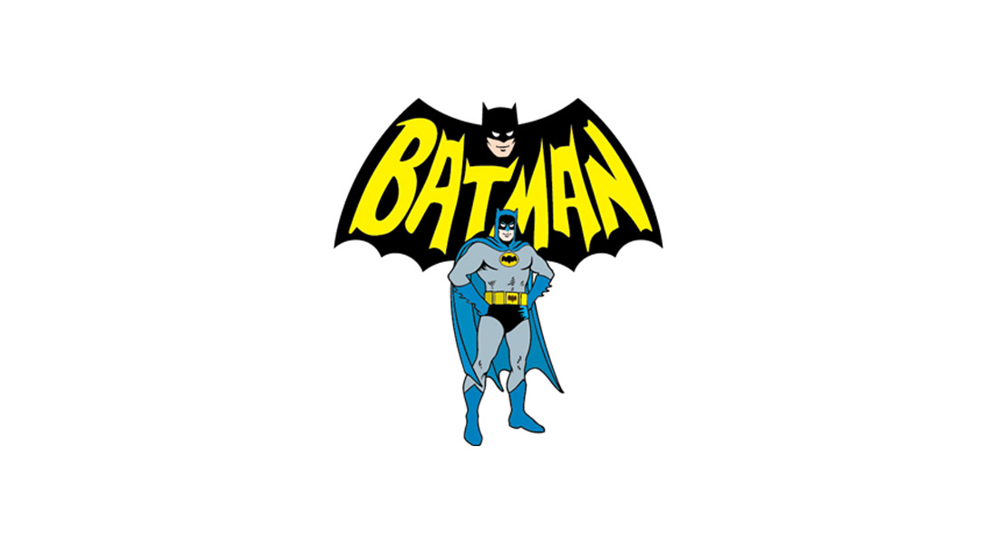 Modèle de logo Batman Cartoon