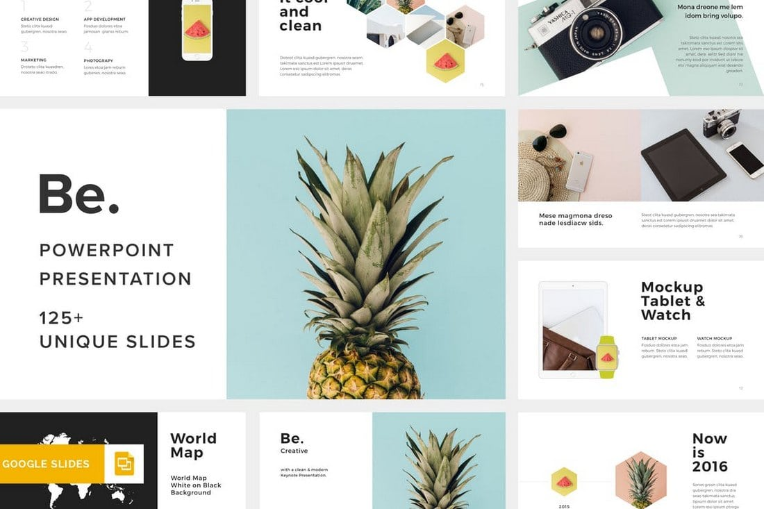 Be.-Google-Slides-Template 35+ Best Google Slides Themes & Templates 2019 design tips