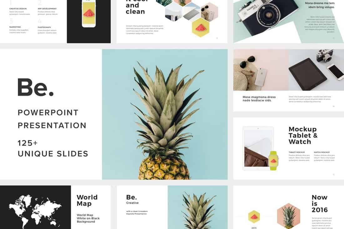 Be. - Professional PowerPoint Template