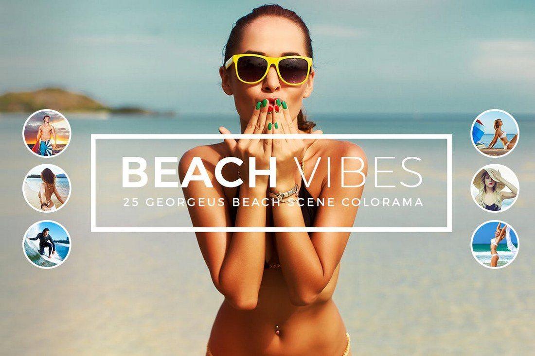 Beach-Vibes-Photoshop-Actions 20+ Best Portrait Photoshop Actions design tips