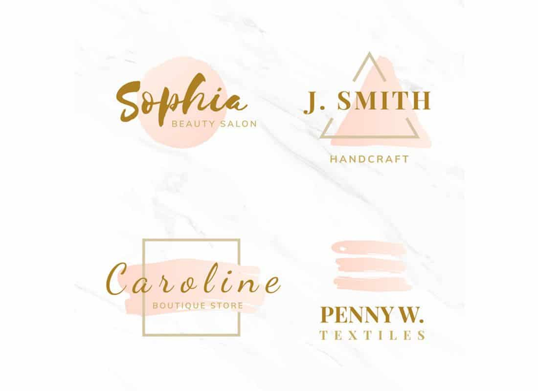 Beauty-Fashion-Logo-Template 20+ Best Free Logo Templates design tips