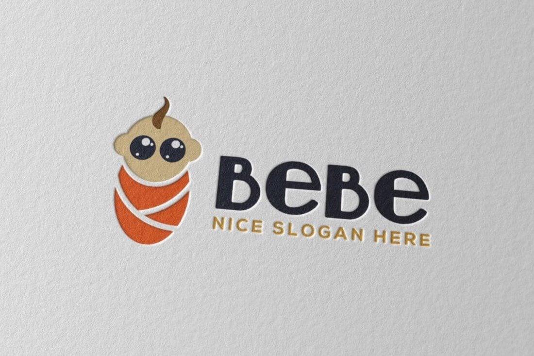 Bebe 50+ Best Minimal Logo Design Templates design tips
