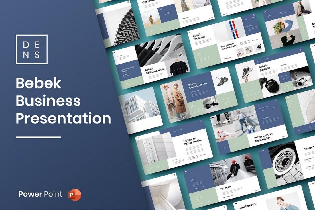 Bebek – Business Pitch Deck PowerPoint Template