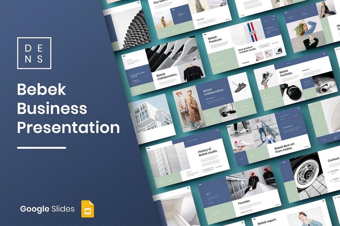 Bebek - Business Google Slide Template