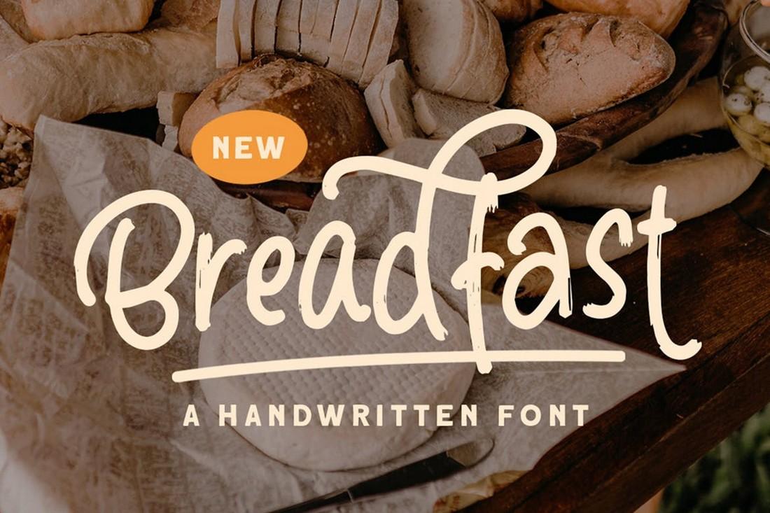 Bedfast - Hand-Drawn Font