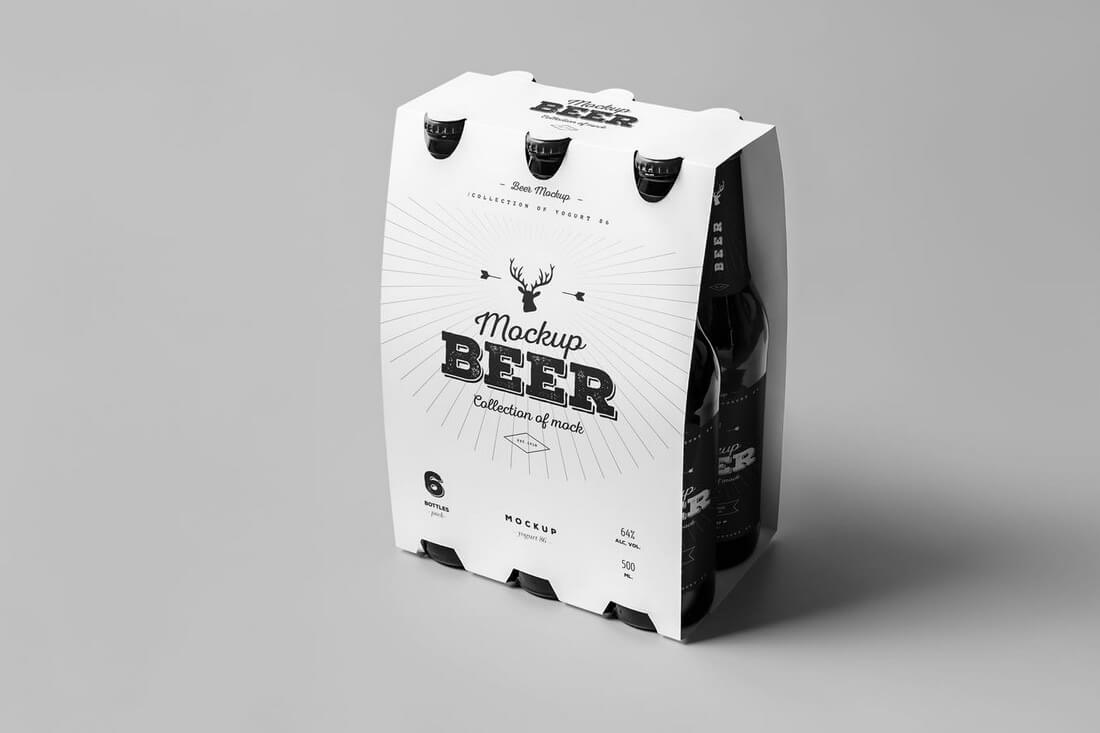 30+ Stunning Food, Drink & Packaging Design Mockups 39