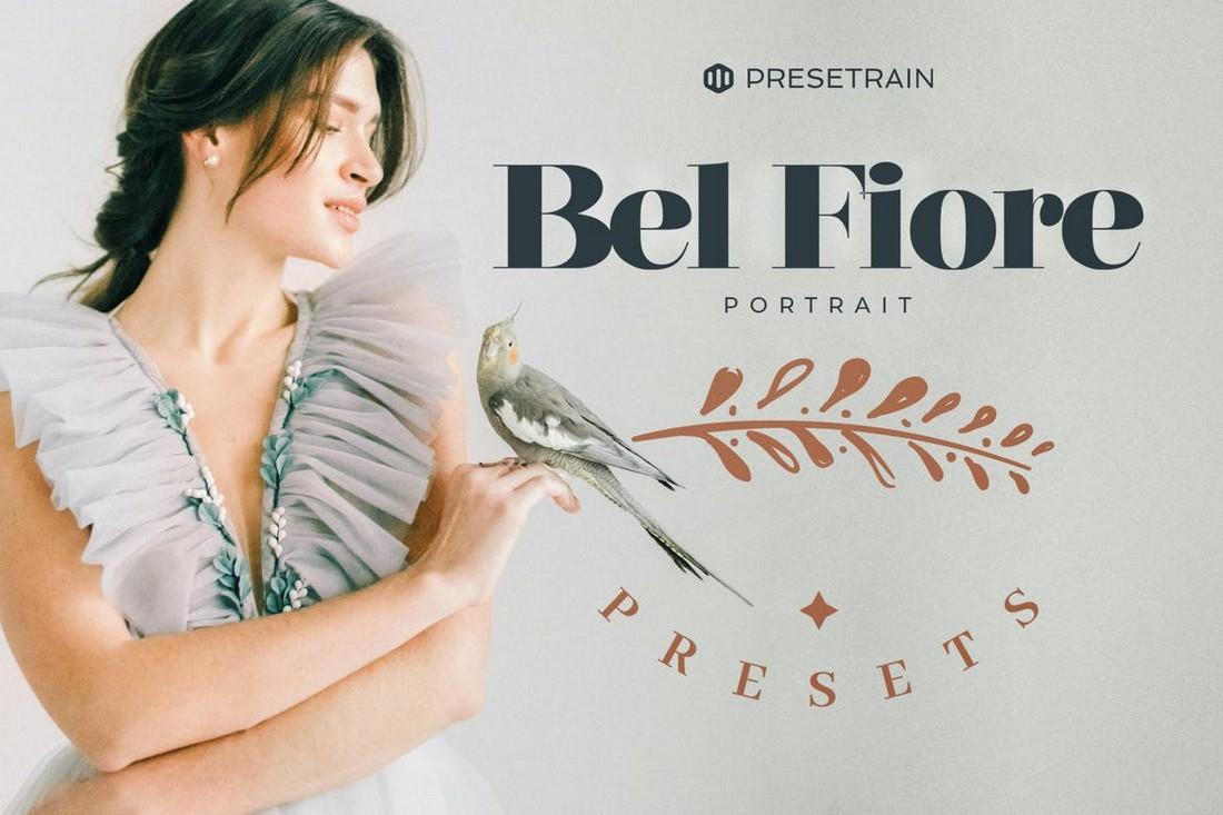 Bel Fiore - Light & Airy Lightroom Portrait Presets
