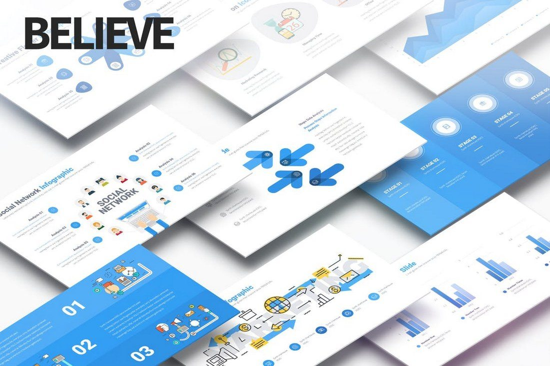 Believe-Multipurpose-PowerPoint-Presentation 50+ Best PowerPoint Templates of 2019 design tips