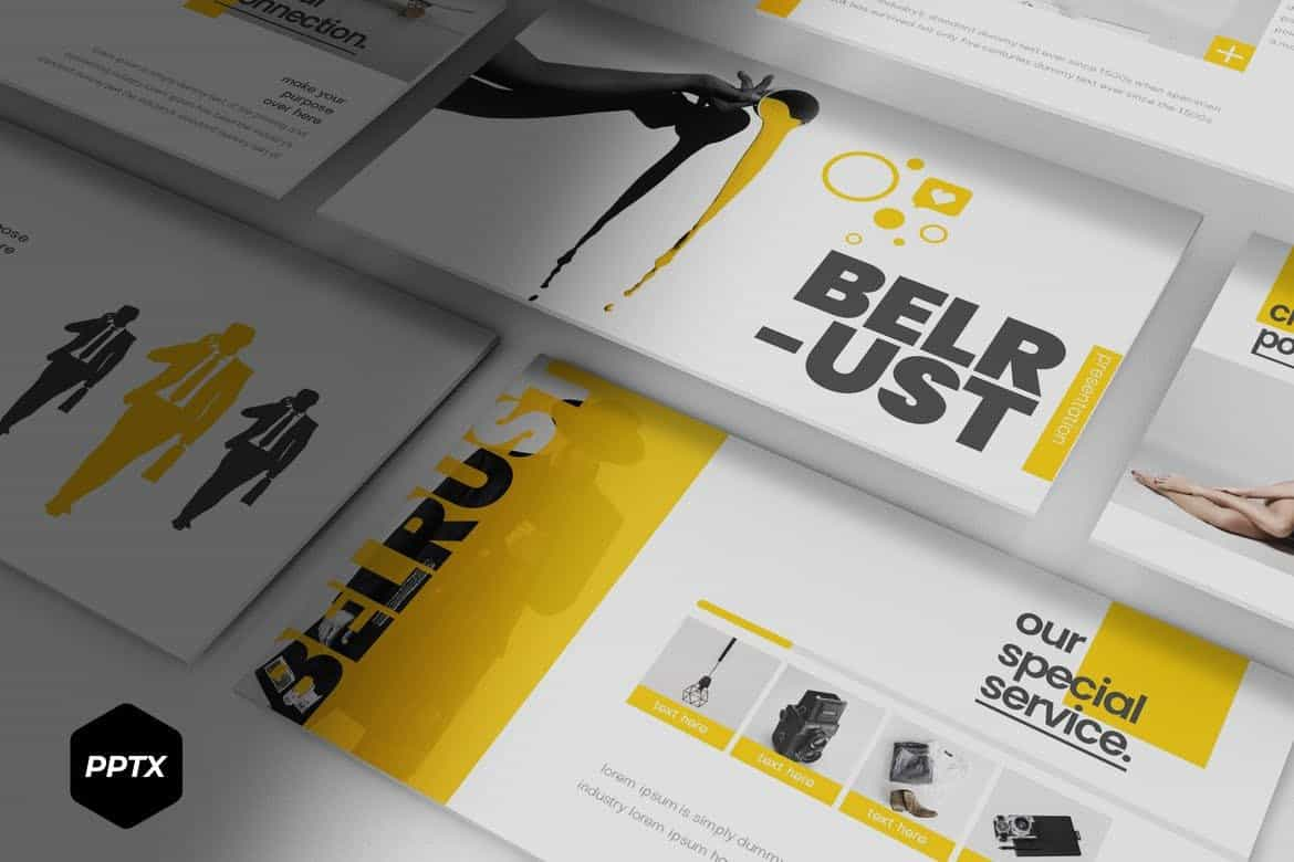 Belrust - Creativea Powerpoint Template