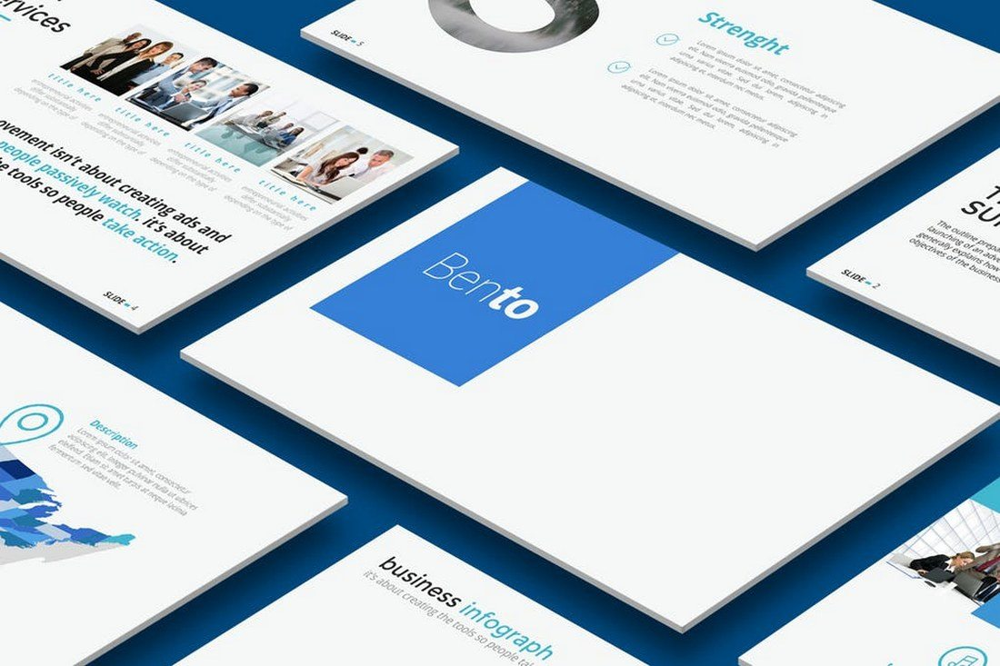 Bento-Powerpoint-Template 60+ Beautiful, Premium PowerPoint Presentation Templates design tips  Inspiration|microsoft|powerpoint|presentation|template