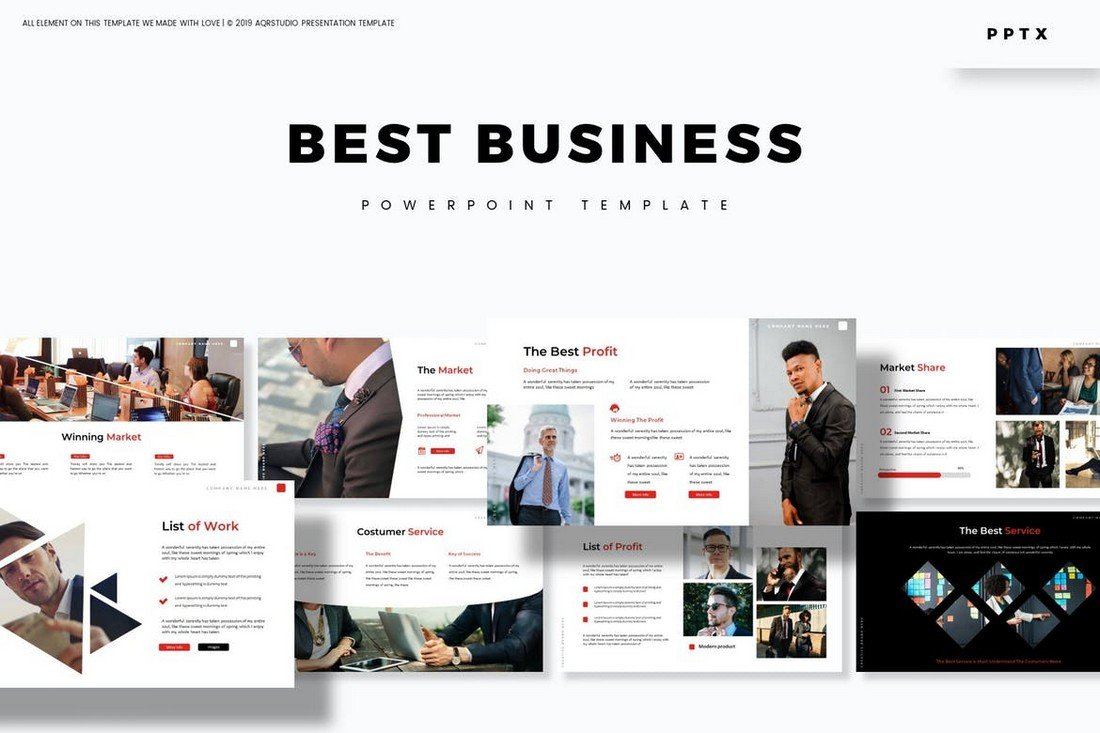 Best Business - Powerpoint Template