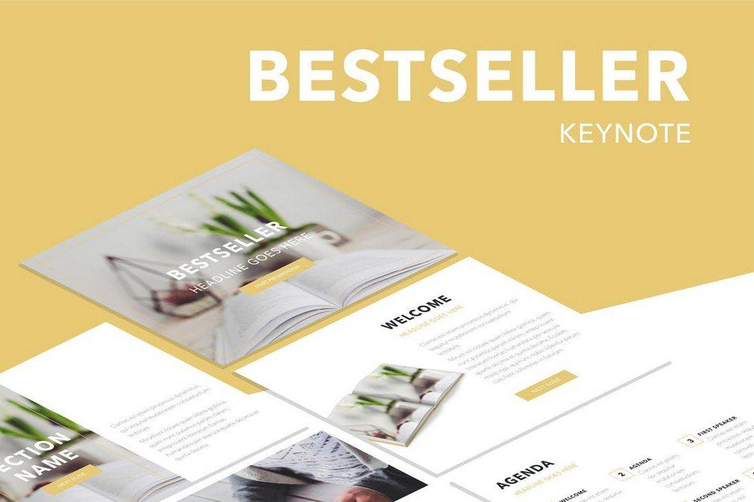 Bestseller-Keynote-Template 30+ Best Minimal & Creative Keynote Templates design tips