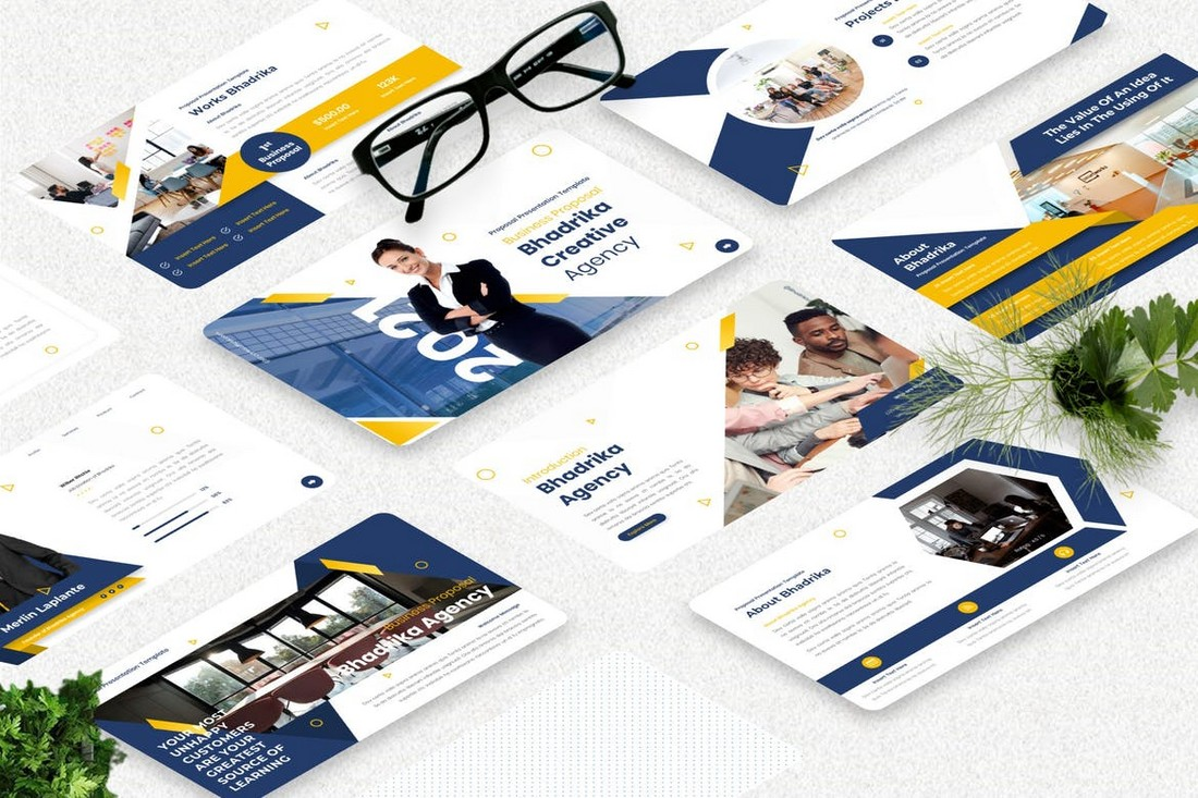 Bhadrika - Proposal PowerPoint Template