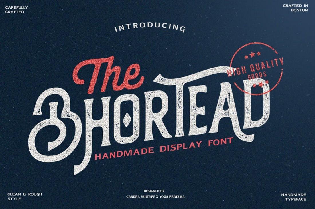 Bhortead - Rustic Display Font