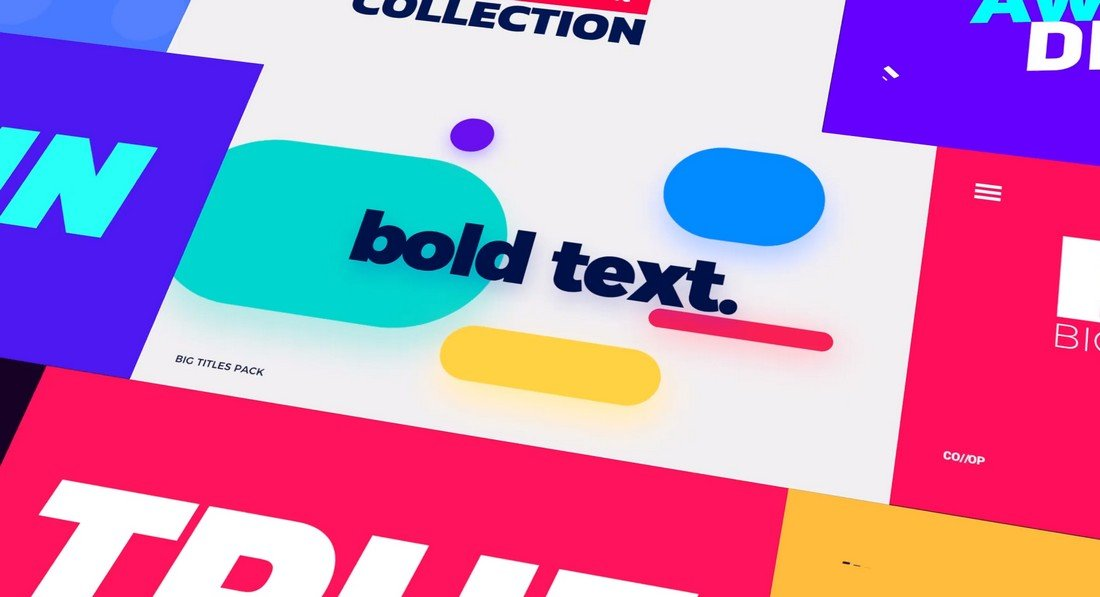 Big Bold Titles - FCPX & Apple Motion Templates