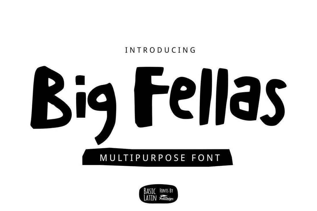 Big Fellas - Multipurpose Chubby Font